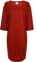 DKNY slouched shift dress - women - Linen/Flax/Spandex/Elastane/Viscose - XS