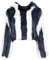 Oscar de la Renta Artic marble coat