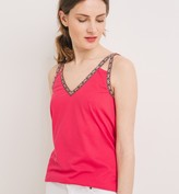 Promod Sleeveless top with edging