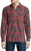 Wesc Ole Plaid-Print Cotton Sport Shirt