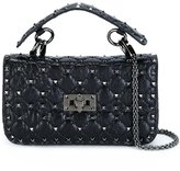 Valentino Garavani Valentino tiny Rockstud Spike crossbody bag - women - Calf Leather - One Size
