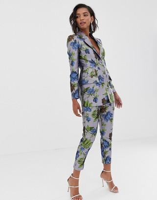 ASOS EDITION floral jacquard pants