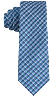 Tommy Hilfiger Men's York Slim Plaid Tie