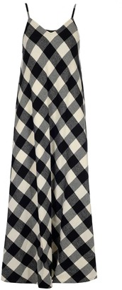 Woolrich Archive Check Long Dress