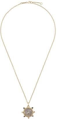 The Great 18kt gold Alexander citrine pendant necklace