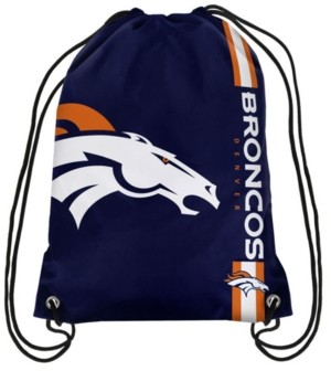 Forever Collectibles Denver Broncos Big Logo Drawstring Bag