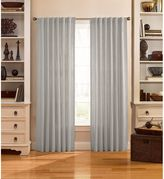 Bed Bath & Beyond Catania Velvet Back Tab Window Curtain Panels