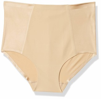 Arabella Women's Shine Microfiber Brief with Spacer
