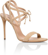Casadei Sandal With Cut Out Detail X030 Suede