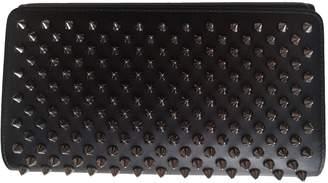 Christian Louboutin Panettone Black Leather Wallets