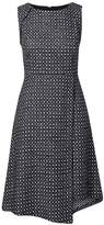 Banana Republic Wrap-Front Tweed Dress