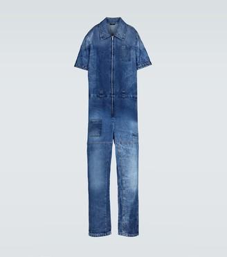 Fendi Denim jumpsuit with pockets
