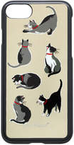 Cath Kidston Small Painted Cats iPhone 7 Case