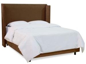 Skyline Jada Nail Button Wingback Bed - California King