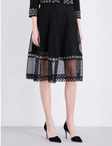 Maje Jenner lace skirt