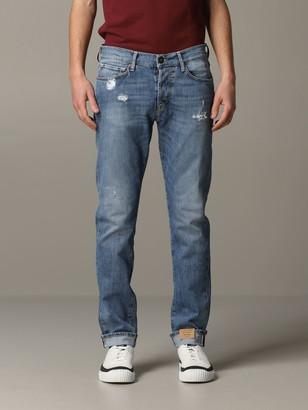 Tela Genova Geneva Canvas Jeans In Used Stretch Denim