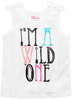 Epic Threads Mix and Match I'm A Wild One Graphic-Print Tank Top, Little Girls (4-6X), Created for Macy's