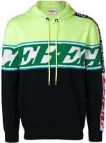 Iceberg colour block hoodie