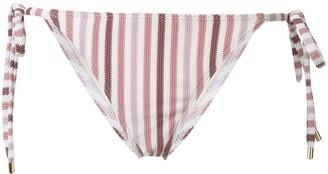 Peony Swimwear Stripe Bikini Bottoms