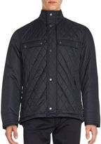 Rainforest Highneck Quilted Jacket
