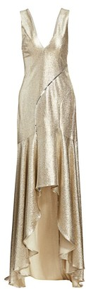 Galvan Releve Hi-Lo Sequin Dress