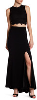 Theia Slit Maxi Skirt