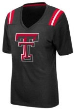Colosseum Women's Texas Tech Red Raiders Rock Paper Scissors T-Shirt