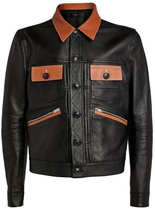 Amiri Leather Worker Jacket