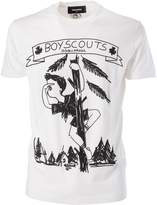 DSQUARED2 Boy Scout Print T-shirt