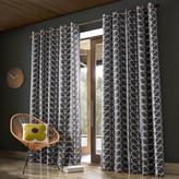 Orla Kiely Linear Stem Eyelet Curtains