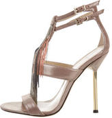 Brian Atwood Embellished Lenoire Sandals w/ Tags
