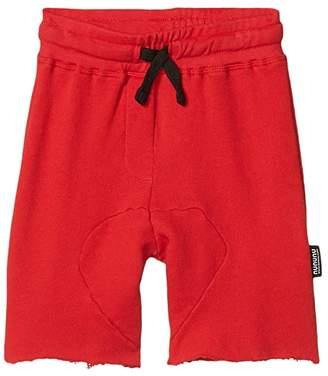 Nununu Soft Sweatshorts (Infant/Toddler/Little Kids) (Lava Red) Boy's Shorts