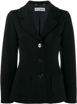 Dolce & Gabbana Pre-Owned 1990's Single-Breasted Jacket
