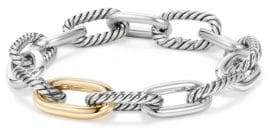 David Yurman Madison Chain Medium Bracelet With 18K Gold