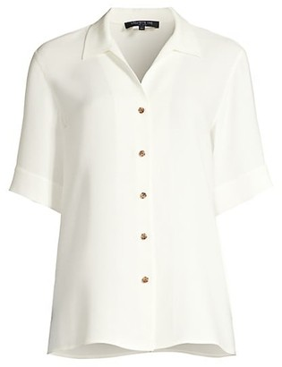 Lafayette 148 New York Madigan Silk Blouse
