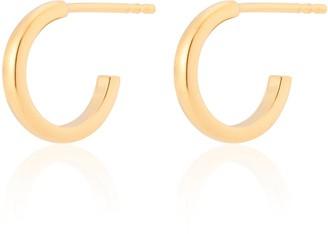Katie Belle 18Ct Gold Vermeil Classic Mini Hoops