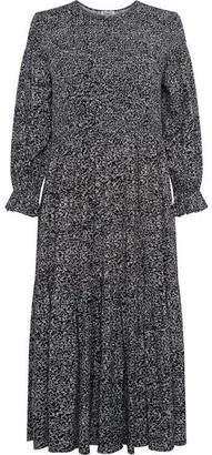 Great Plains Ivy Fleur Long Sleeve Smock Dress