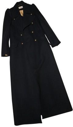 Chloé Navy Wool Coat for Women