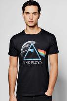 boohoo Pink Floyd License Band T Shirt black