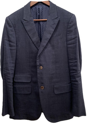 Gucci Blue Wool Suits