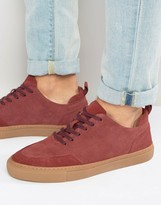 Zign Shoes Suede Sneakers