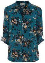 Oasis Ann Marie Frill Front Shirt