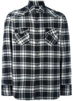 Salvatore Piccolo checked shirt