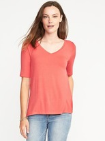 Old Navy V-Neck Swing Tee for Women