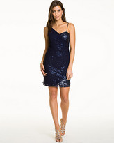Le Château Sequin One Shoulder Cocktail Dress
