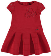 Mayoral Embellished Flower Dress, Size 3-7