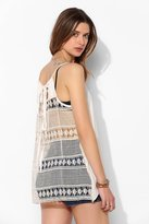 Urban Outfitters LIV Lace-Back Tunic Cami