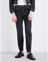 Vetements Regular-fit Tapered Mid-rise Jeans