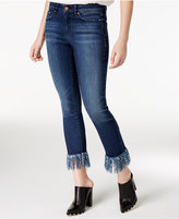 William Rast Fringe Memphis Wash Skinny Jeans