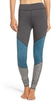 Free People Women's 'Intuition' High Waist Colorblock Leggings